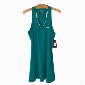 Nike Dri-Fit Tennis Dress Racerback Turquoise L